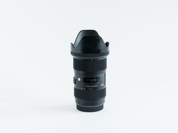 Rent: Sigma 18-35mm f/1.8 DC HSM Art Canon Mount