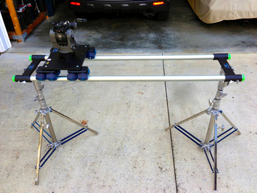 Rent: Dana Dolly kit w/speedrail and low-combo stands