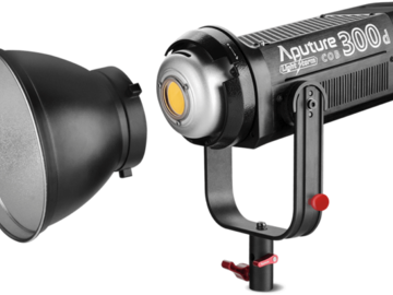 Rent: *2* Aputure Lightstorm 300d's w/ Fresnel  FREE DELIVERY