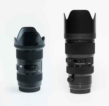 Sigma 18-35mm f1.8 & 50-100 f/1.8 - Canon Kit