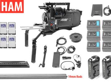 Rent: ARRI Alexa EV Classic (4) 128GB, (6) 190Wh, Canon EF or PL