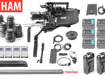 Rent: Arri Alexa EV Classic, (6) Cine DS Rokinon Lenses, HighSpeed