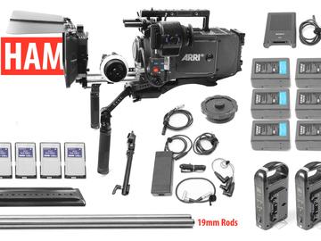 Rent: ARRI Alexa EV Classic Canon EF or PL, Matte Box Follow Focus
