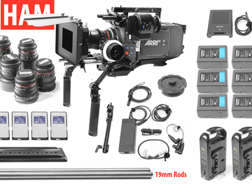 Rent: ARRI Alexa EV Classic, 6 Rokinon Lenses, Matte Box, Handles