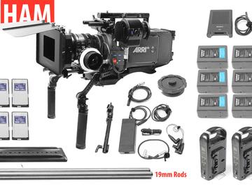 Rent: ARRI Alexa EV Classic, Sigma T2 18-35mm, Matte Box, F. Focus