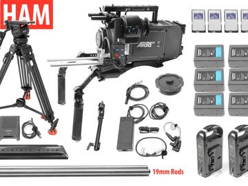 Rent: ARRI Alexa EV Classic Canon EF or PL, Sachtler 18SB Tripod