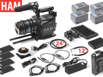 Rent: RED Epic Dragon 6K, Sigma T2 18-35mm Cine Lens , (4) 256GB
