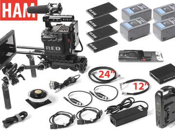 "Rent: RED Epic Dragon 6k, Shoulder Rig (4) 256GB Cards, 7"" Touch"