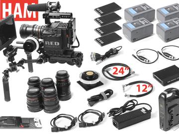 Rent: RED Epic Dragon 6K, (6) Rokinon Lenses, Handles, F. Focus