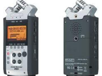 Rent: Zoom H4n 4 Channel Recorder