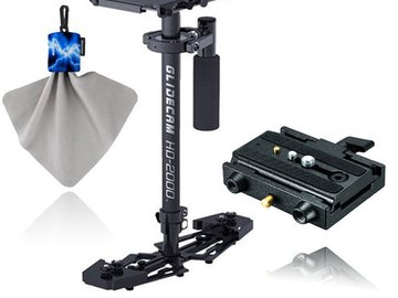 Rent: Glidecam HD-2000 Hand-Held Stabilizer + Manfrotto 577