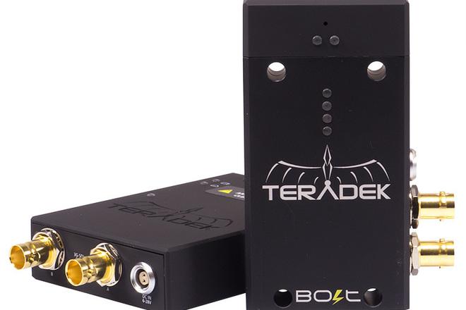 Teradek Bolt Wireless HD Video Tx/Rx  HD-SDI  4:2:2