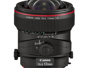 Rent: Canon TS-E 17mm f/4L Tilt-Shift Lens