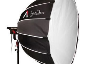 Aputure C120D COB Light + Light Dome Soft Box