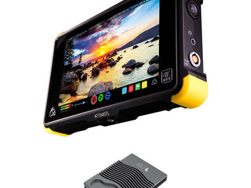 "Rent: Atomos Shogun 7"" 4K HDMI & SDI Recorder NEW/FREE DELIVERY"