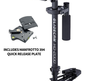 Rent: Glidecam HD2000 with Manfrotto Quick Release Plate