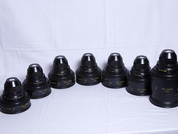 TLS Cooke Speed Panchro Vintage 7 Lens Set