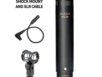 Rent: Audix SCX1-HC Studio Condenser Microphone - Hypercardioid
