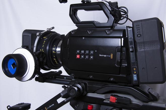 URSA Mini 4.6K PRO Camera w/TLS Cooke Speed Panchro Lenses