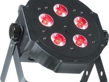 Rent: ADJ American DJ Mega TriPar Profile Plus RGB+UV LED PAR (X4)