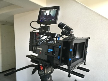 Rent: Red Scarlet Dragon w/lenses, tripod, handheld rig & more