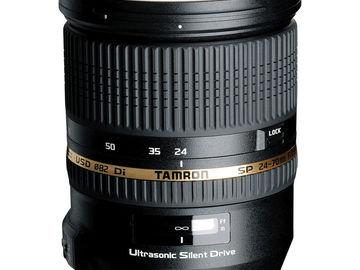 Rent: Tamron 24-70mm f/2.8 lens
