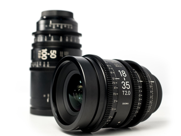 Rent: Sigma Cine Zooms 18-35 T2 & 50-100 T2 (ND's Included)