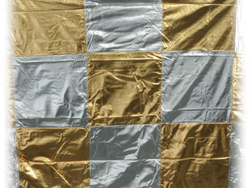 Rent: 6x6 Silver/Gold Checkerboard