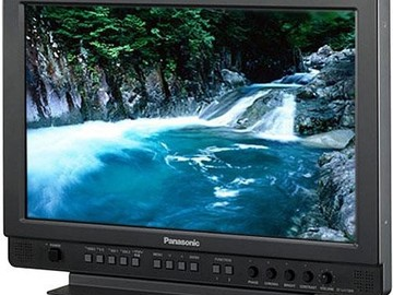 "Rent: PANASONIC 17"" DIRECTOR/CLIENT MONITOR BT-LH1710"