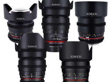 Rent: Rokinon Cine DS Lens Full Kit