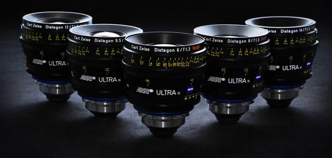 Arri Ultra Prime Lens Kit(T1.9 16,24,32,50,85mm)