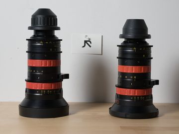 Angenieux Optimo DP Rouge Pair