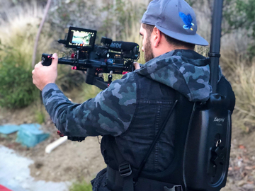 Rent: Ronin M Easy rig Sony Alpha a7R III with GM Zeiss + OPERATOR