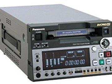 Rent: Panasonic AJ-SD93 DVCPro 50/25 / DVCAM / MiniDV Deck