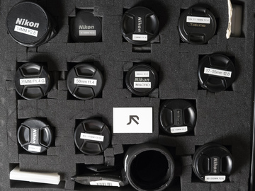 Rent: Nikkor lens kit