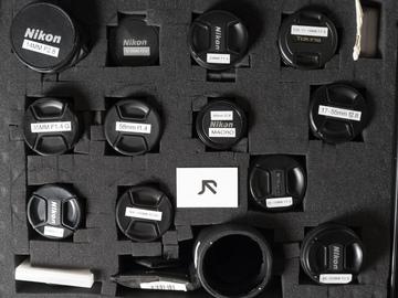 Rent: Nikkor lens kit