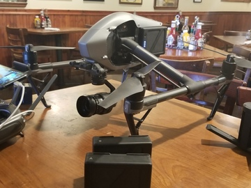 Rent: DJI Inspire 2 Quadcopter X5S Xenmuse
