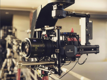 Rent: REMOTE HEAD + GRAVITY GIMBAL SYSTEM + ARMOR MAN 2.0