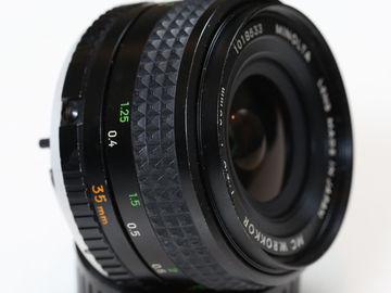 Rent: Minolta Prime lenses for Sony A7S II