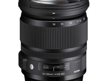 Rent: Sigma Art Lens 24-105mm F4.0