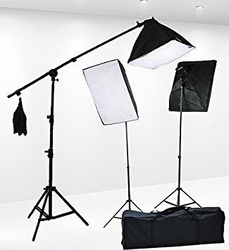 2400 watt 3-point lighting kit