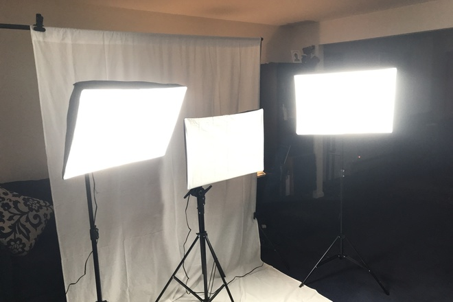 StudioFX 2400 Watt Large Photography Softbox Kit