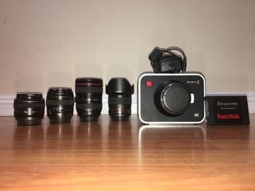 Rent: Blackmagic Design Production Camera 4K - Package