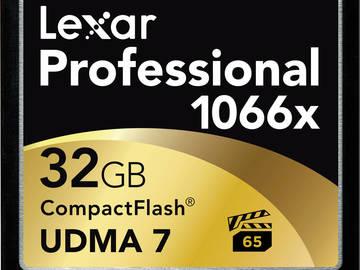 Rent: 3x 32GB CF Cards & Hard Case