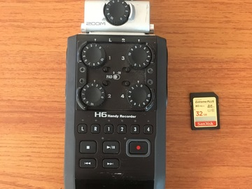 Rent: Zoom H6 Audio Recorder