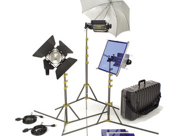 Rent: Lowel TO-GO 97 Kit, 2000 watt total, 3 lights + 2 Chinaballs