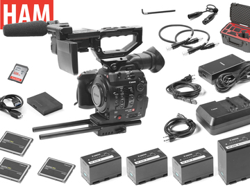 Rent: Canon EOS C300 Mark II Cinema Camera (3) 256GB Cards