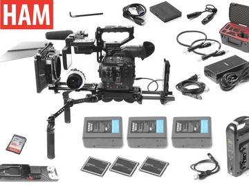 Rent: Canon C300 Mark II Gold Mount, F. Focus, Matte Box, Shoulder