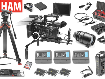 Rent: Canon C300 Mark II Full Package Sigma Cine 18-35, 50-100mm
