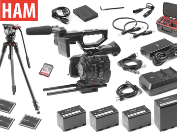 Rent: Canon C300 Mark II with Sachtler FSB6 Tripod (3) 256GB Cards